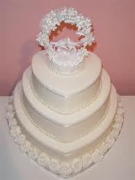 Molded (shaped) Wedding Cake