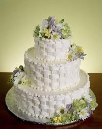 Basket Weave and Fresh Flowers