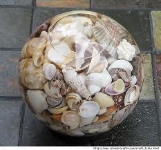 seashell centerpiece